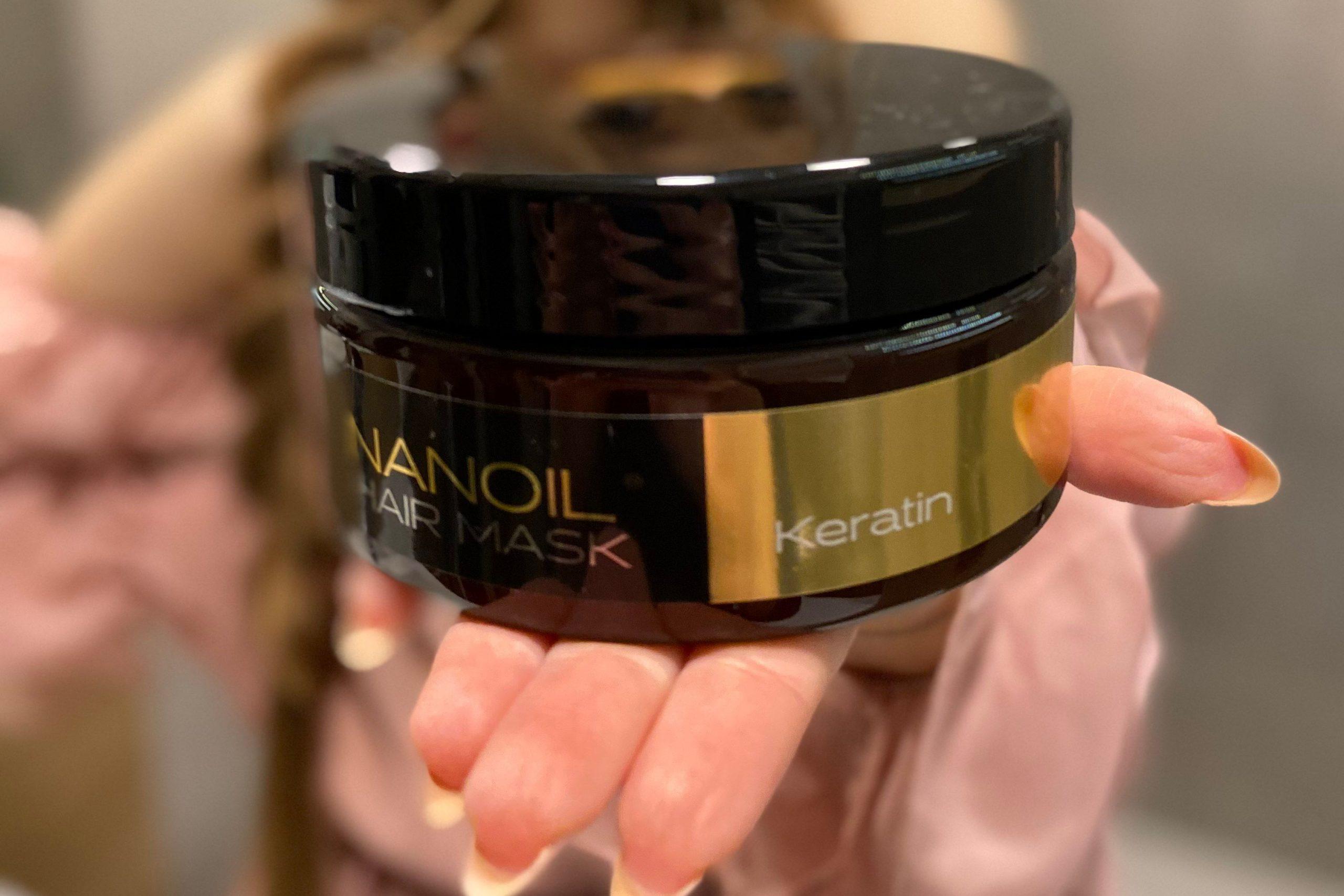 Nanoil a legjobb hajmaszk keratinnal
